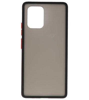 Kleurcombinatie Hard Case voor Samsung Galaxy A81 Zwart