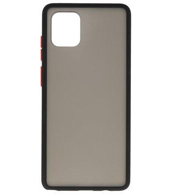Kleurcombinatie Hard Case voor Samsung Galaxy A91 Zwart
