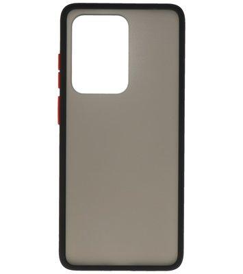 Kleurcombinatie Hard Case voor Samsung Galaxy S20 Ultra Zwart