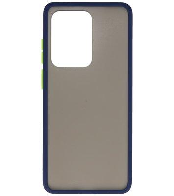 Kleurcombinatie Hard Case voor Samsung Galaxy S20 Ultra Blauw