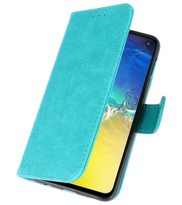 Booktype Wallet Cases voor de Samsung Galaxy S20 Groen