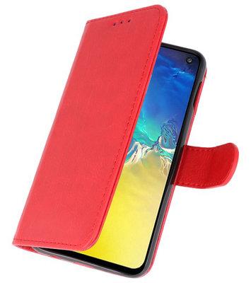 Booktype Wallet Cases voor de Samsung Galaxy Note 10 Lite Rood