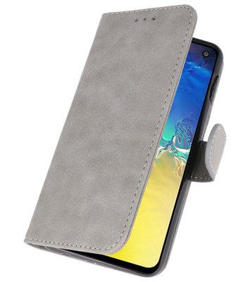 Booktype Wallet Cases voor de Samsung Galaxy Note 10 Lite Grijs