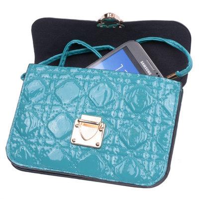 BestCases Groen Design Trendy Smartphone Wallet Kleine Handtas Schoudertas