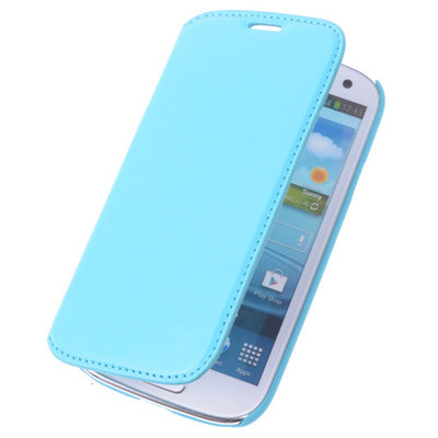 Bestcases Turquoise Map Case Book Cover Hoesje voor Samsung Galaxy Note 3