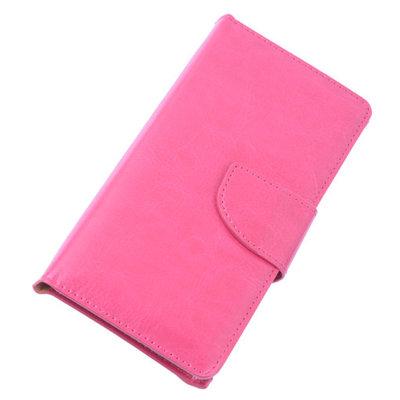BestCases Roze Portemonnee Telefoon Hoesje L