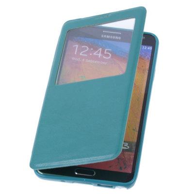 View Case Groen Hoesje voor Samsung Galaxy S5 TPU Bookcover
