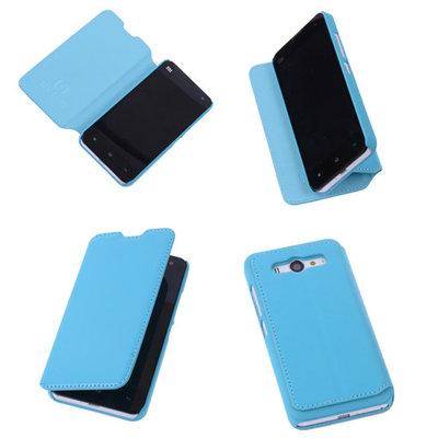 Bestcases Turquoise Hoesje voor XiaoMi Mi 2 Map Case Book Cover