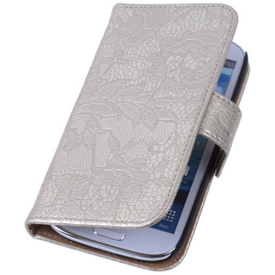 Lace Goud Samsung Galaxy Note 3 Neo Book/Wallet Case/Cover