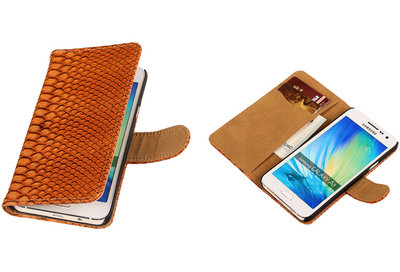 "BC ""Slang"" Bruin Samsung Galaxy A3 2015 Bookcase Cover Hoesje"