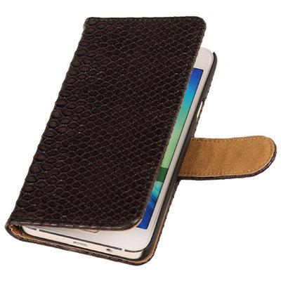 "BC ""Slang"" Zwart Samsung Galaxy A5 2015 Bookcase Cover Hoesje"