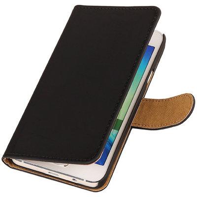 Zwart Hoesje voor HTC Desire Eye s Book/Wallet Case/Cover