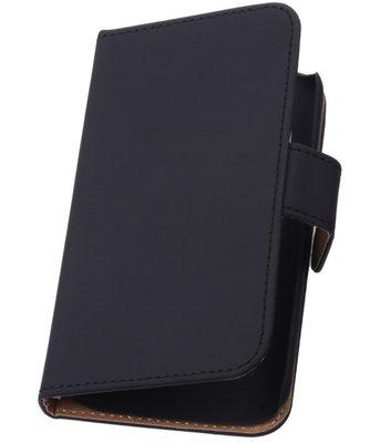 Zwart Samsung Galaxy Grand Neo Hoesjes Book/Wallet Case/Cover