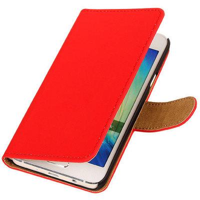 Rood Hoesje voor Motorola Nexus 6 Book Wallet Case