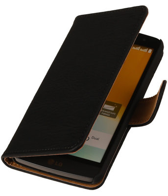 Hout Zwart Honor 3c Book Wallet Case