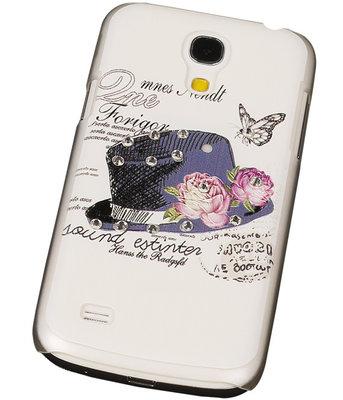 3D Hardcase met Diamant Galaxy S4 Mini I9190 Hoed