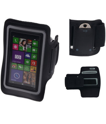 Apple iPhone 11 Pro Max Zwart Sport Armband Neopreen