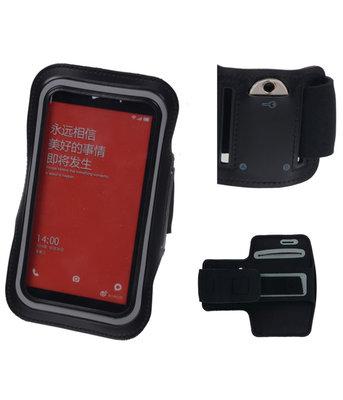 Xiaomi Mi 4 Zwart Sport Armband Neopreen