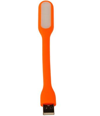 USB LED Lamp Flexibel Oranje