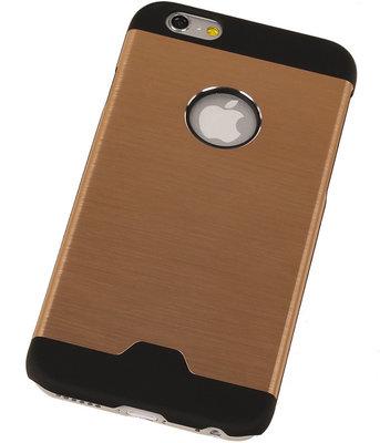 Lichte Aluminium Hardcase iPhone 4/4S Goud