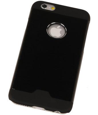 Lichte Aluminium Hardcase iPhone 4/4S Zwart