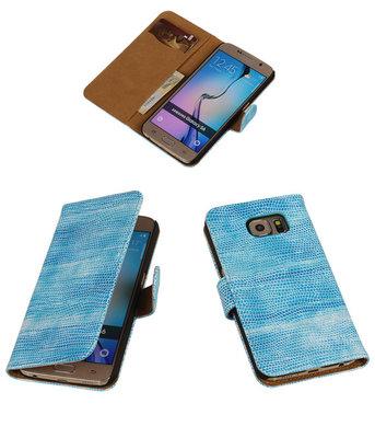 Hoesje voor Samsung Galaxy S6 mini Slang Blauw