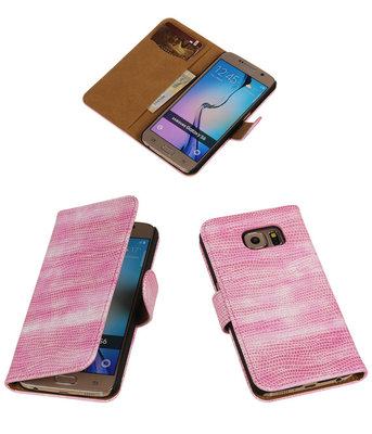 Hoesje voor Samsung Galaxy S6 mini Slang Roze