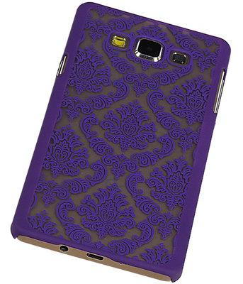 Hoesje voor Samsung Galaxy A7 2015 - Brocant Hardcase Paars