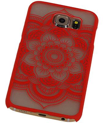 Hoesje voor Samsung Galaxy S6 - Roma Hardcase Rood