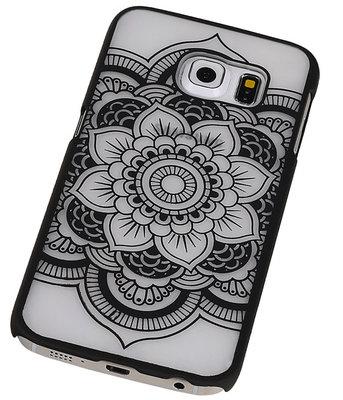Hoesje voor Samsung Galaxy S6 edge - Roma Hardcase Zwart