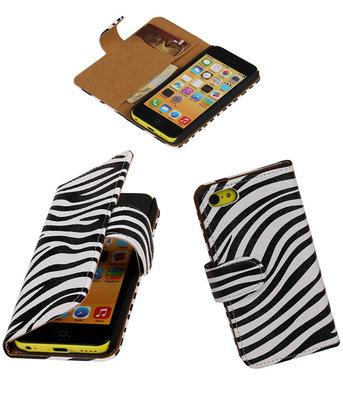 Apple iPhone 5c Hoesje Zebra