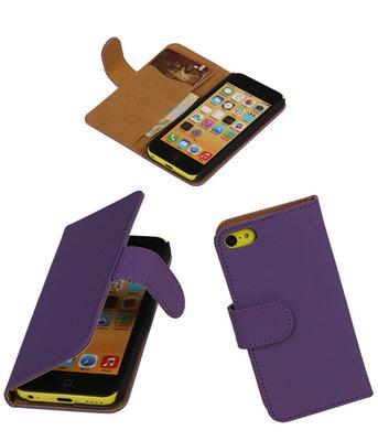 Hoesje voor Apple iPhone 5c Paars Effen
