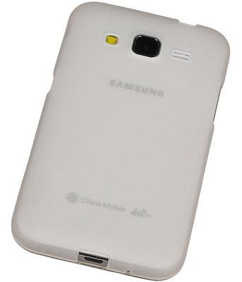 Hoesje voor HTC Desire 526 TPU Transparant Wit