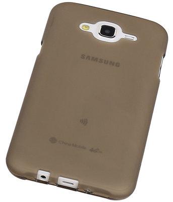 "Hoesje voor Samsung Galaxy J5 2015 TPU Transparant Grijs â"" Back Case Bumper Hoes Cover"