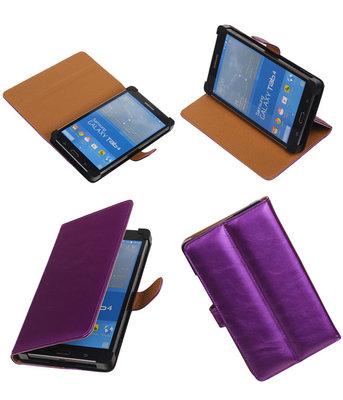 7 inch Tablet - PU Leder Paars