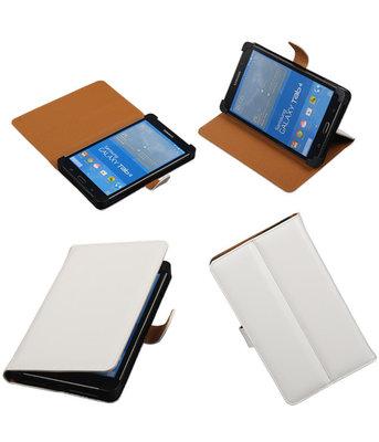 7 inch Tablet - PU Leder Wit
