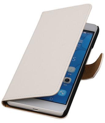 Hoesje voor LG G4c Effen Bookstyle Wallet Wit