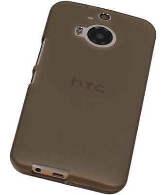 Hoesje voor HTC One M9 TPU Transparant Grijs