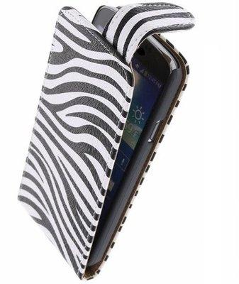 Hoesje voor Nokia Lumia 525 - Zebra Classic Flipcase
