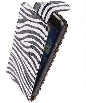 Hoesje voor Nokia Lumia 928 - Zebra Classic Flipcase