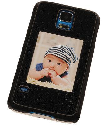 Fotolijst Backcover Hardcase Galaxy S5 Neo Zwart