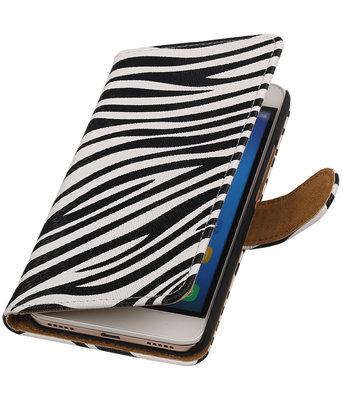 Hoesje voor Huawei Honor Y6 - Zebra Booktype Wallet