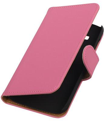 Hoesje voor Huawei Ascend Y540 Roze Effen