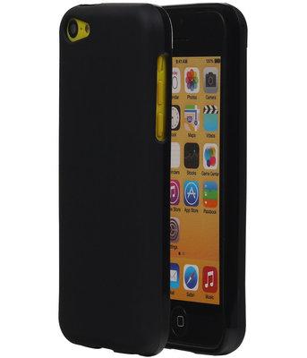 Hoesje voor Apple iPhone 5C TPU Zwart