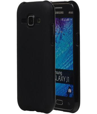 Samsung Galaxy J1 2015 TPU Hoesje Zwart
