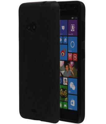 Microsoft Lumia 535 TPU Hoesje Zwart