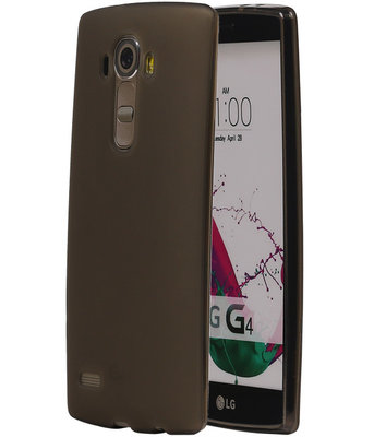 Hoesje voor LG G4 TPU Transparant Grijs
