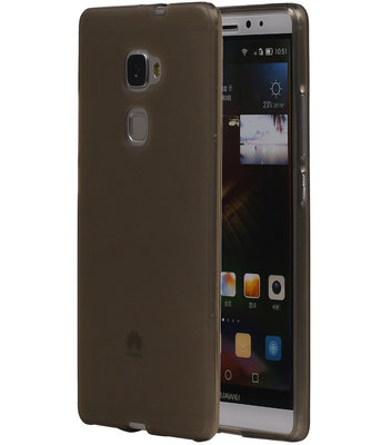 Hoesje voor Huawei Ascend Mate 7 TPU Transparant Grijs