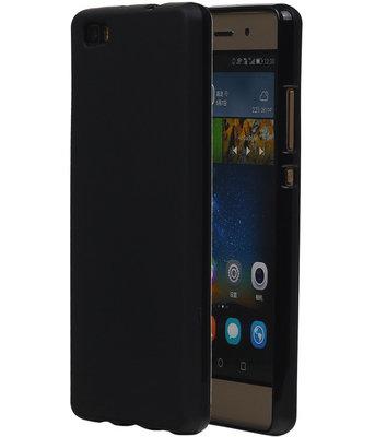 Hoesje voor Huawei Ascend P8 Lite TPU Zwart