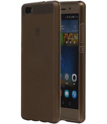 Hoesje voor Huawei Ascend P8 Lite TPU Transparant Grijs